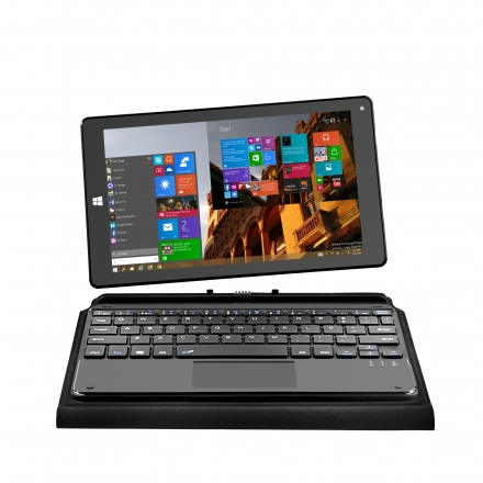 NOTEBOOK 2 EM 1 (WINDOWS 8.9. / INTEL QC / 1GB+16GB / DUAL CAM / PRETO) (05)