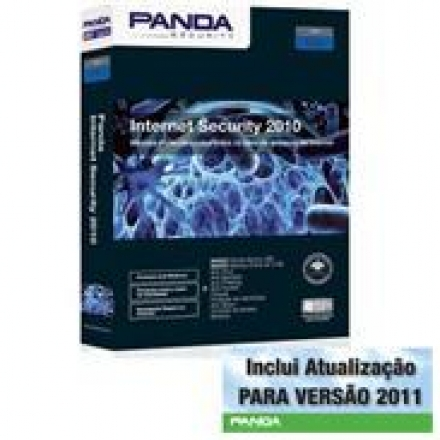 844-Antivirus Panda Internet Security A12IS10MB3 2010 MB Licença 3 PC