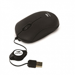 748-MOUSE USB RETRATIL  MS -15 BK C3TECH PTO